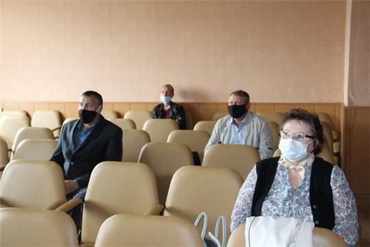 Состоялось очередное заседание оперативного штаба по предупреждению завоза и распространения новой коронавирусной инфекции COVID-19
