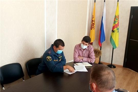 Совещание по вопросам обеспечения безопасности при проведении голосования по поправкам в Конституцию Российской Федерации