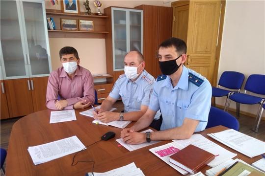Сергей Беккер принял участие в заседании координационного совещания руководителей правоохранительных органов Чувашии в режиме видеоконференцсвязи
