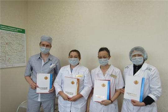 Для каждого из награжденных помогать людям - это призвание и судьба: сотрудников Цивильской ЦРБ поздравили с Днем медицинского работника
