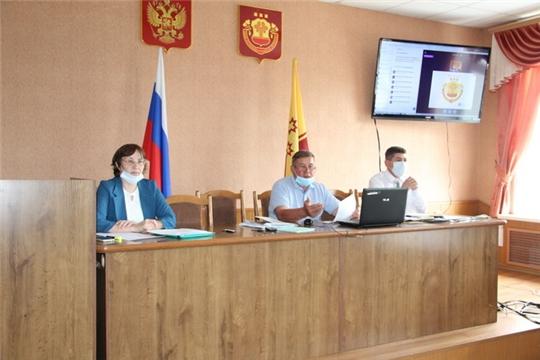 Совещание по проведению Общероссийского голосования по вопросу одобрения изменений в Конституцию Российской Федерации