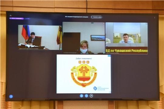 Заседание Координационного совещания по обеспечению правопорядка