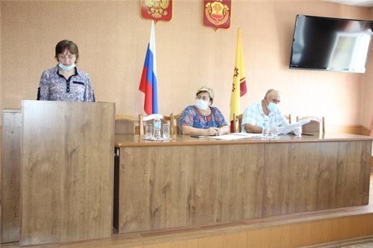 Состоялось XXXXX очередное заседание Собрания депутатов Цивильского района