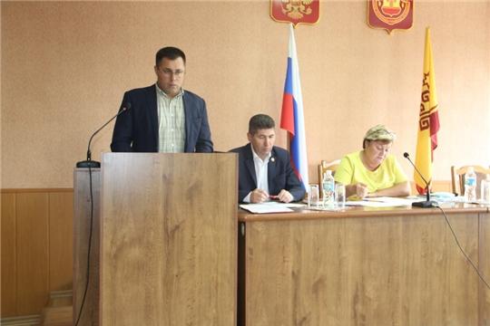 Состоялось ХХХХХI внеочередное заседание Собрания депутатов Цивильского района