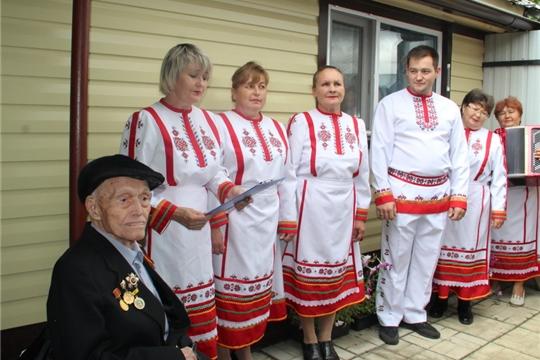 100-летний юбилей отметил участник Великой Отечественной войны Капитонов Василий Капитонович