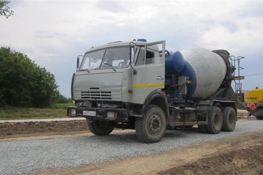 Строительство автомобильной дороги по улице Молодежная в селе Первое Степаново