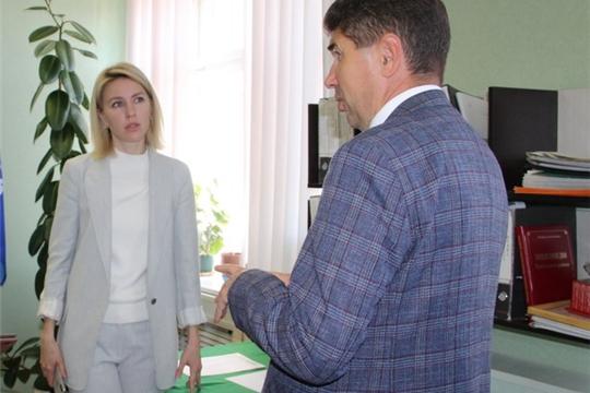 Рабочий визит депутата Государственной Думы Российской Федерации Алены Аршиновой в Цивильский район