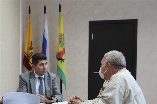 Глава администрации района Сергей Беккер провел прием граждан по личным вопросам