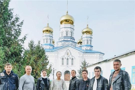 Цивильские байкеры закрыли мотосезон посещением Тихвинского Богородицкого женского монастыря