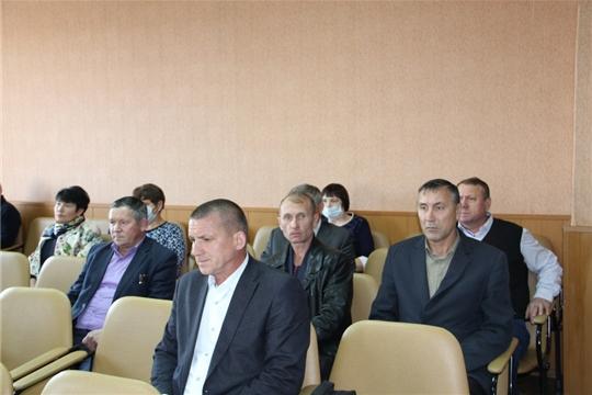 Состоялось заседание Собрания депутатов Цивильского района