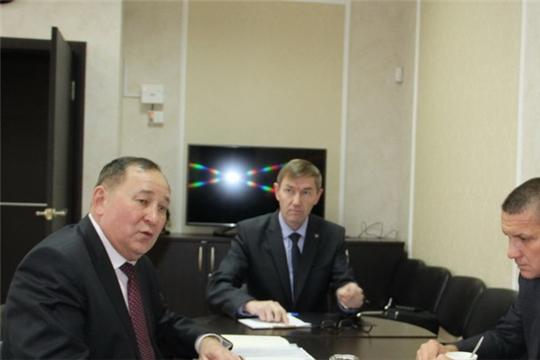 Цивильский район посетил исполнительный директор Совета муниципальных образований Чувашии