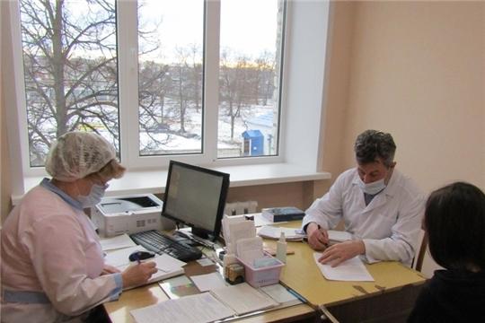 Врачебная мобильная бригада специалистов из г. Чебоксар прибыла в Цивильскую ЦРБ для оказания медицинской помощи населению