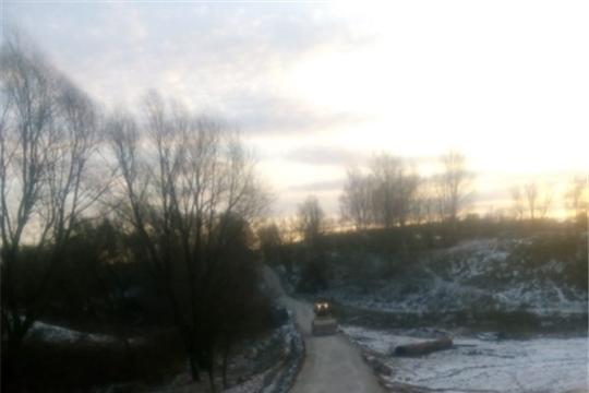 В д. Байгеево закончили ремонт дороги с устройством щебеночного покрытия