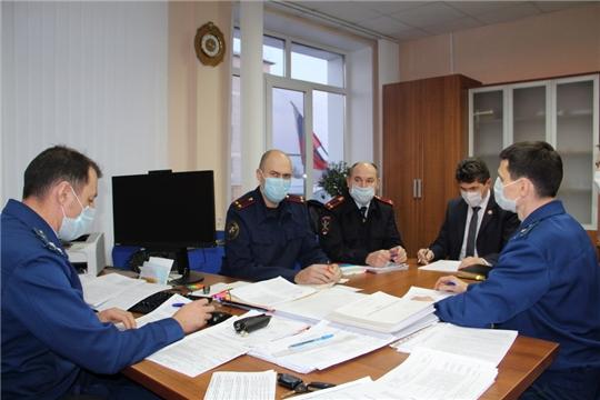 Обсуждены вопросы соблюдения законодательства в сфере профилактики преступлений  и правонарушений