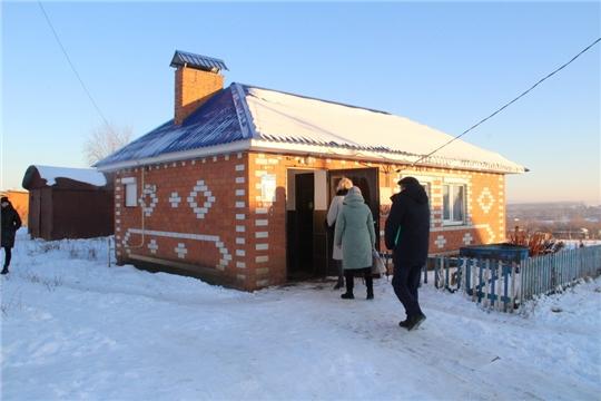 Мобильная группа посетила Чурачикское сельское поселение